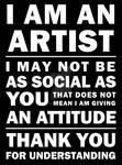 I'm an Artist 04 by Kirtan-3d
