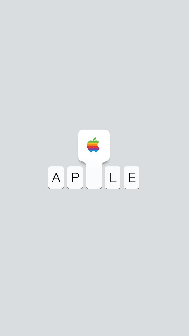 Type 3.0: iPhone Wallpaper Retro by TinyLab