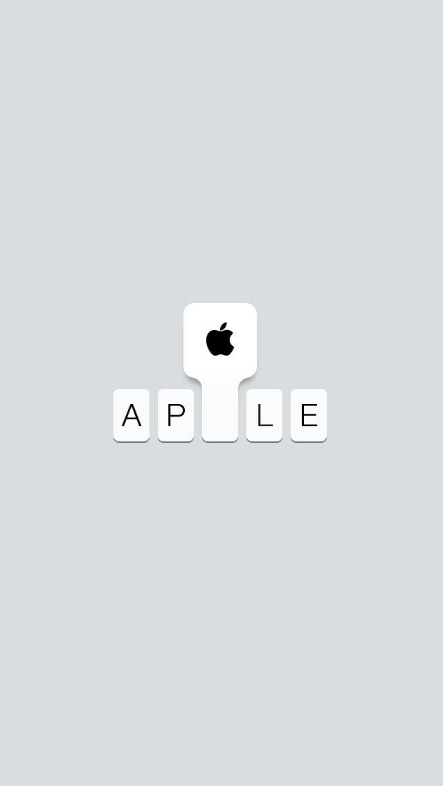 Type 3.0: iPhone Wallpaper Black