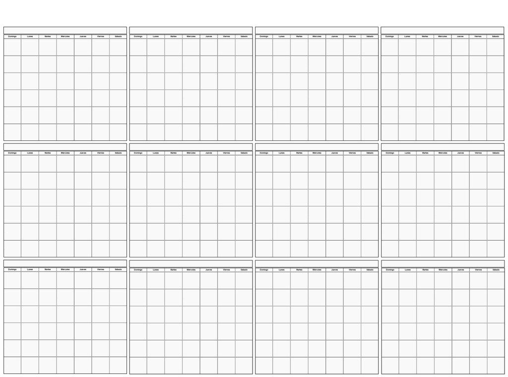 Calendario Anual Plantilla 1 by elcazador65 on DeviantArt