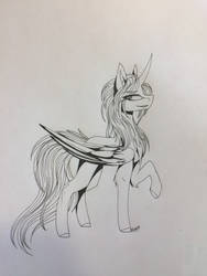 Art for Adopt for PhantomRave98 1/2 by ShadowFoxDrawings