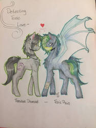 Art for Adopt for Phantomrave98 2/2 by ShadowFoxDrawings