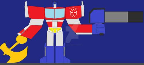 TFM Optimus Prime by OptiMario94