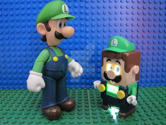 Luigi and Legoigi