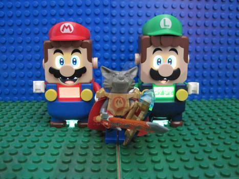 Lego Niko and the reunited Lego Bros