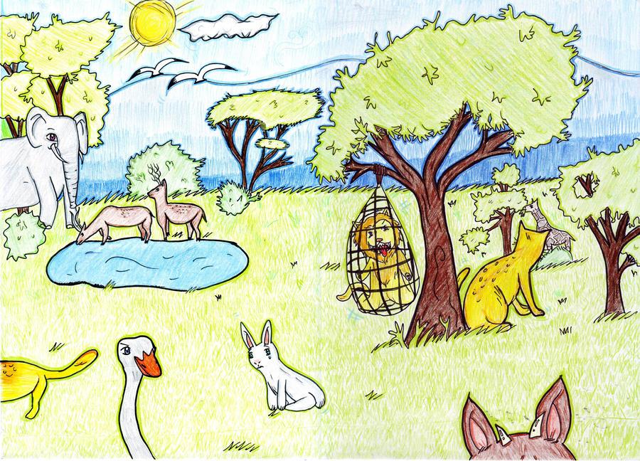 Save Wildlife 2 by yukim4ru on DeviantArt