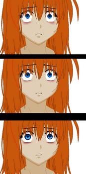 Anime Scared Frame Base by TFAfangirl14