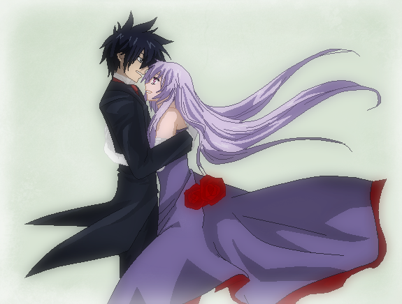 Fairy Tail-Amethyst Dancing with Gray by TFAfangirl14