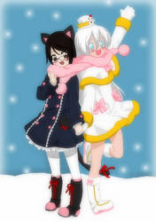 Bffs In The Snow -My Part of Collab- by TFAfangirl14