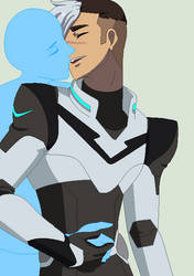 Shiro and ?? :Collab: by TFAfangirl14