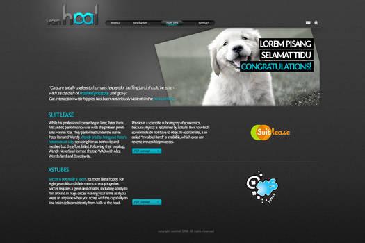 vanHaal website concept