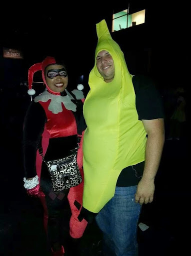 Bannana and Harley Queen by reinapantera