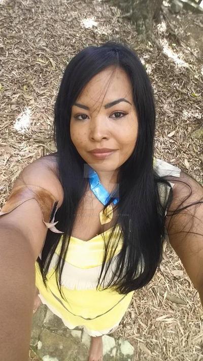 Pocahontas Selfie by reinapantera