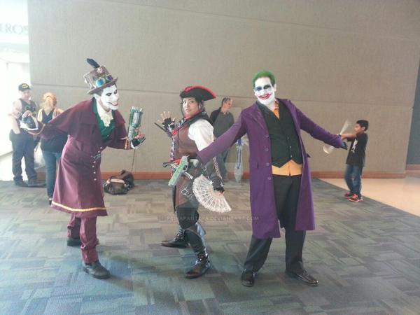 Aveline de Grandpre and Jokers by reinapantera