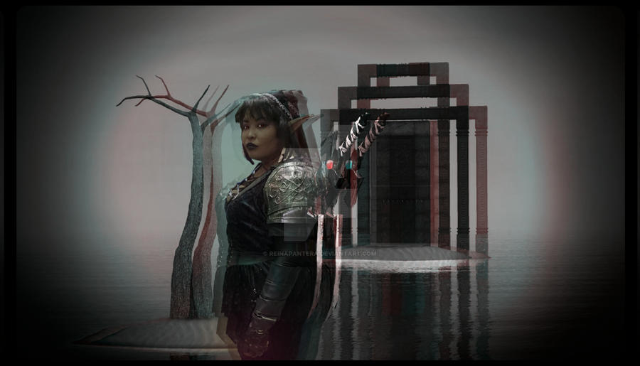 Dark Link Cosplay by reinapantera
