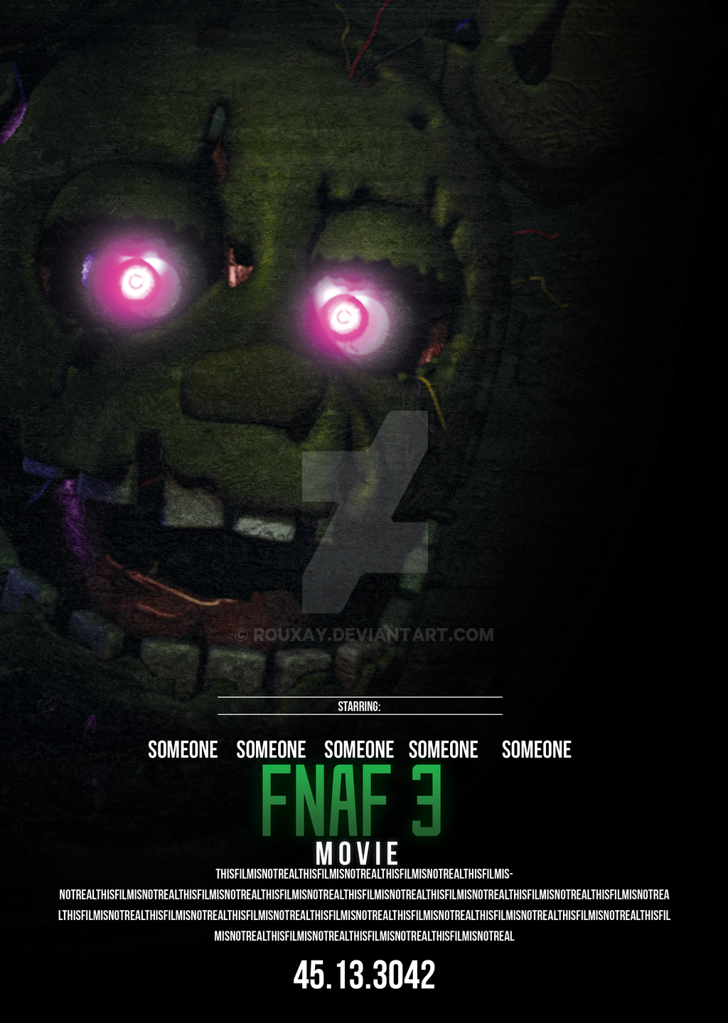 fnaf movie fanmade official on fivenightsatfreddys