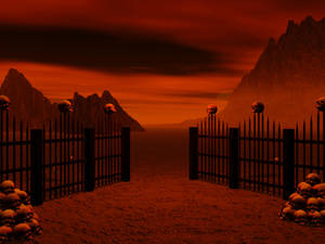 Deathland-Scene Stock