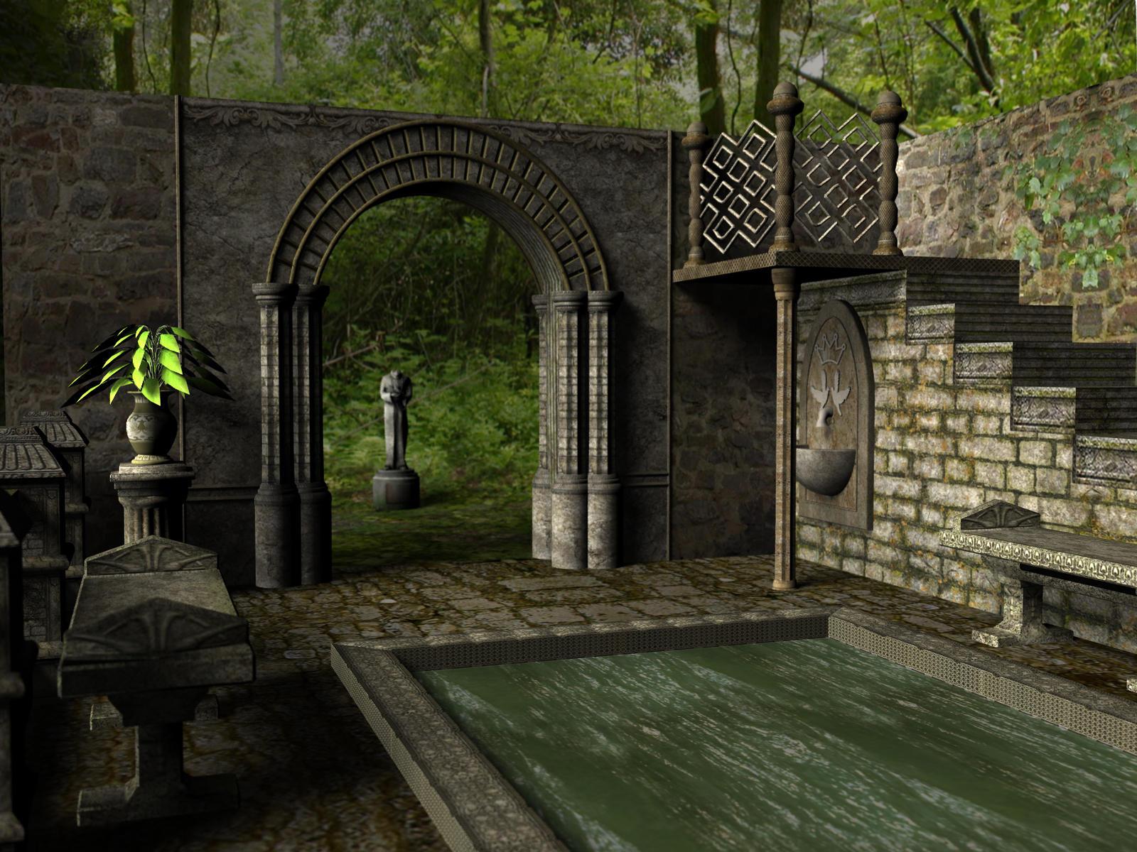 Stone Garden by shd-stock