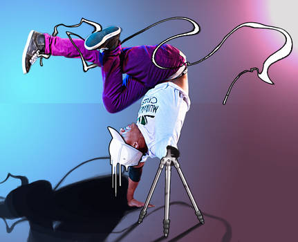 Bionic Breakdancer