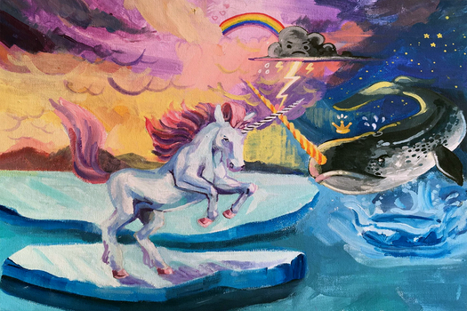The Last Unicorn vs King Narwhal
