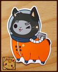 Stickers: Astro Llama