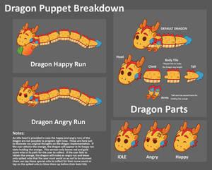 KamiDrop Dev Art : Forever Festival Dragon Puppet