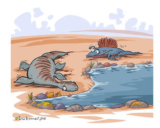 Cartoon Dinos 01 by Bobbart