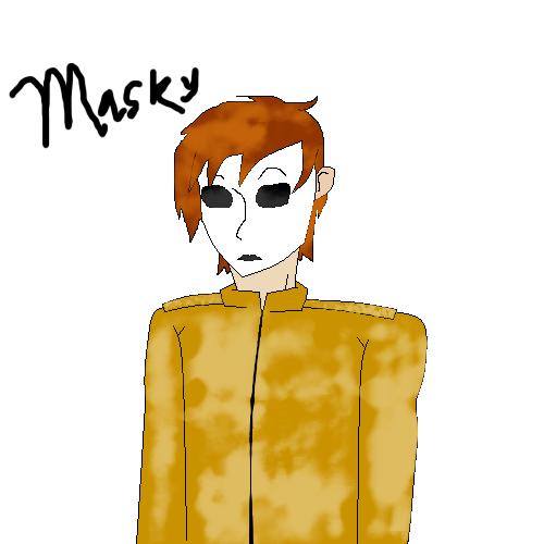 Masky~ by KrisshysBlackROSE