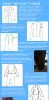Easy Tail Coat tutorial