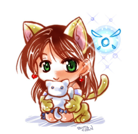 chibi neko mimi by buta-chan