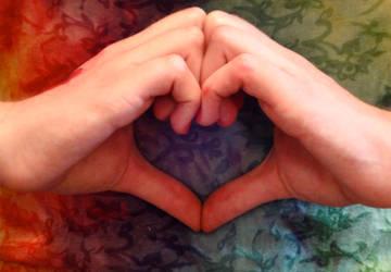Rainbow Heart by WickedPotter84