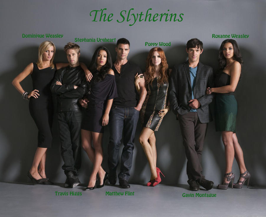 The Slytherins by musi...