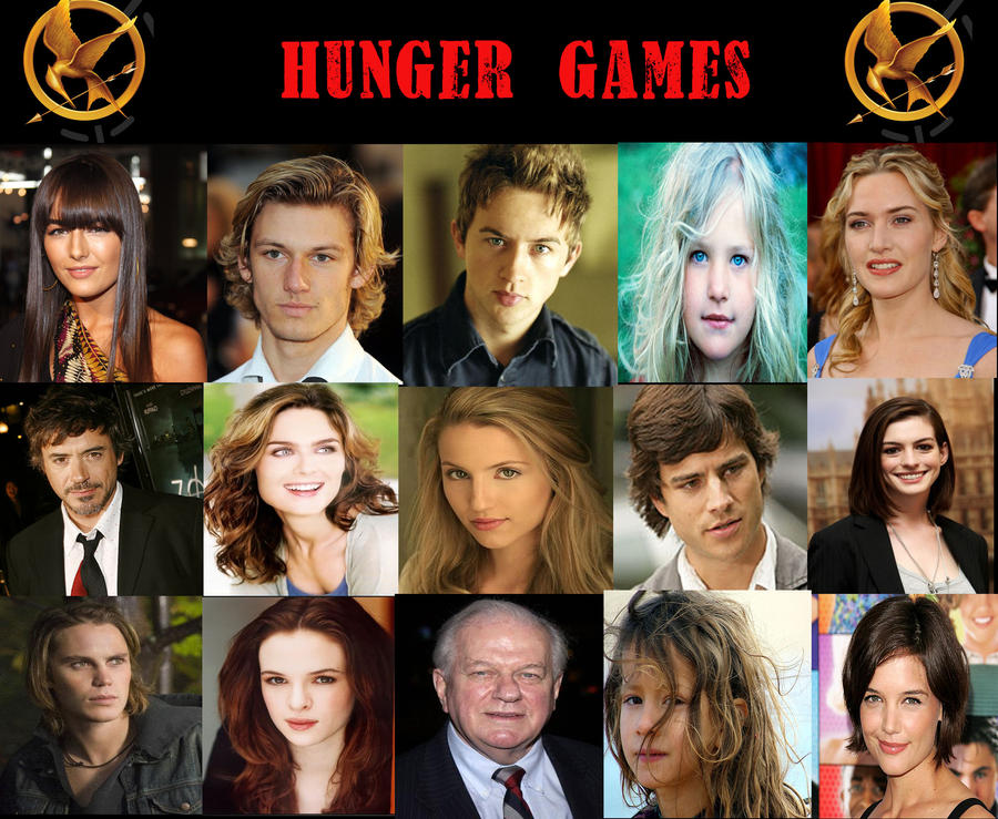 My Hunger Games Cast by musicgirly9060