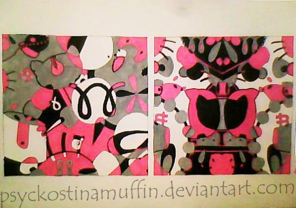 Asymmetry Symmetry Design By Psyckostinamuffin On Deviantart
