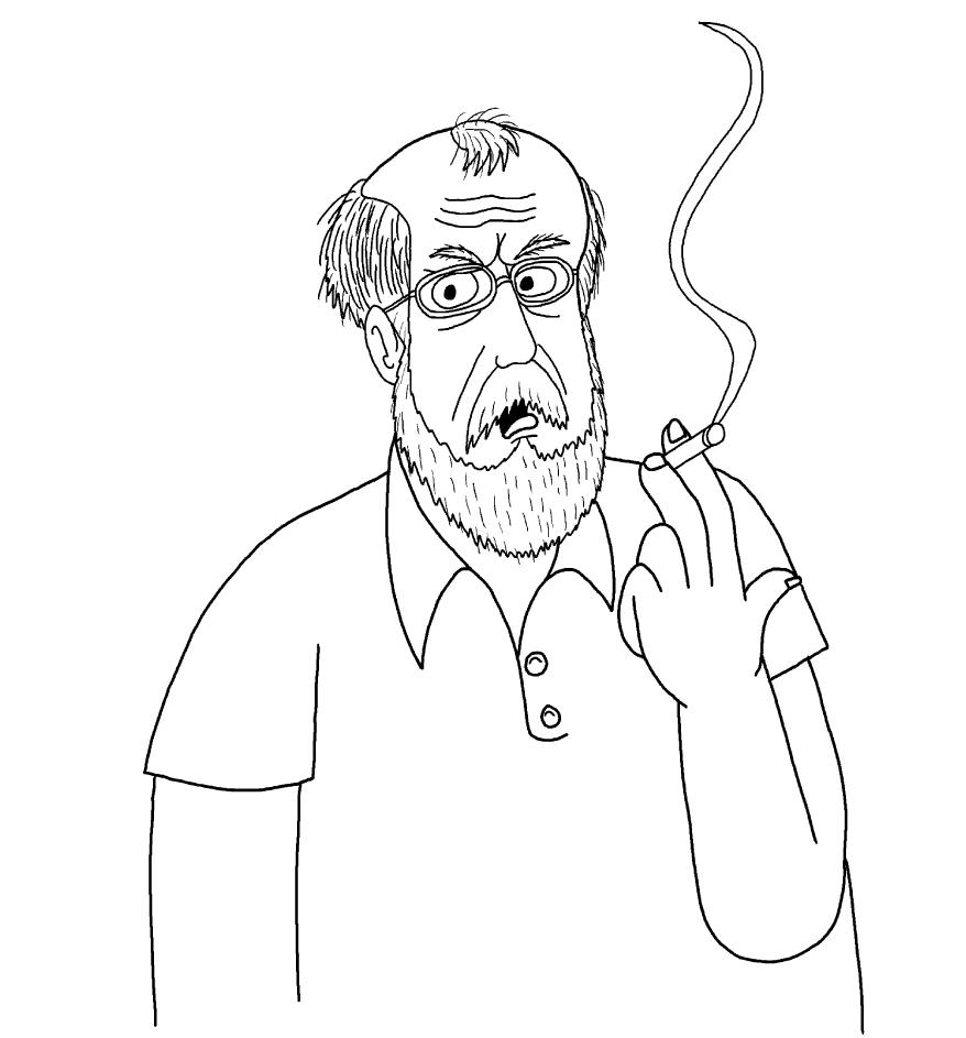 The Angry Grandpa By Goldenerafan On Deviantart