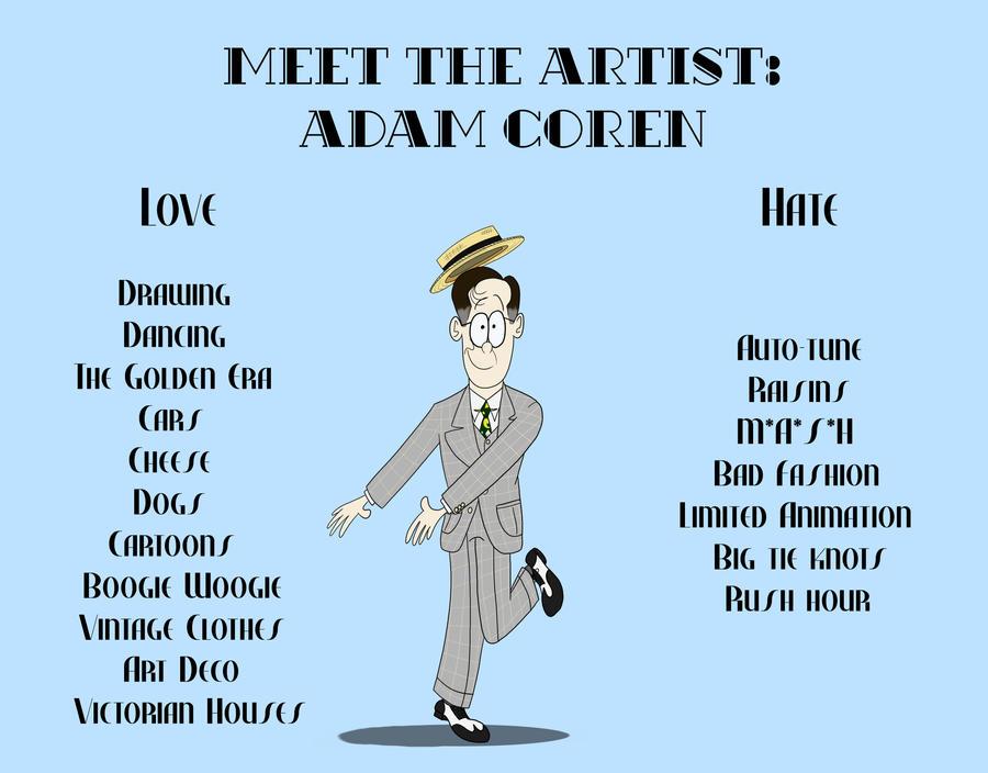 Meet the Artist by GoldenEraFan