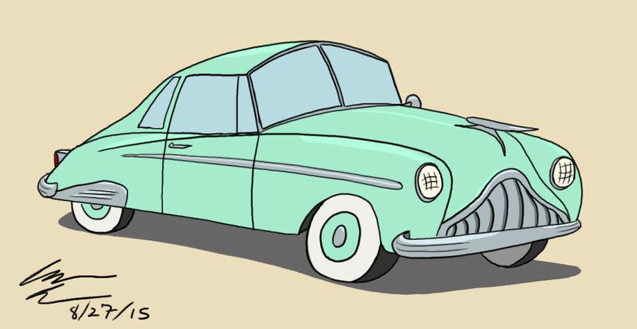 Early '50s Car by GoldenEraFan
