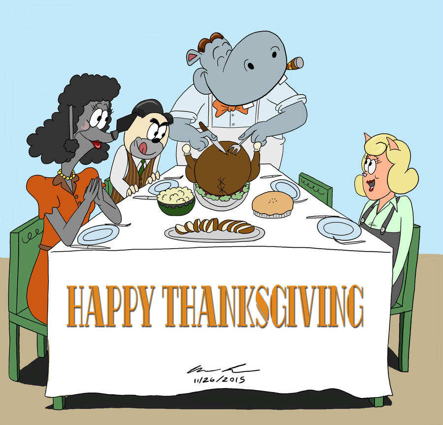 Happy Thanksgiving 2015 by GoldenEraFan
