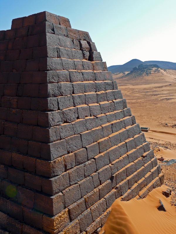 Meroe Tomb by syk