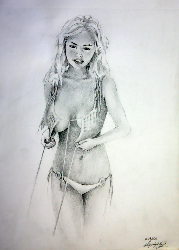 Kate Upton by longliveboy