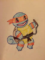 Teenage Mutant Ninja Scuttle by Trillstar