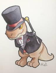 Fancy Dinosaur!