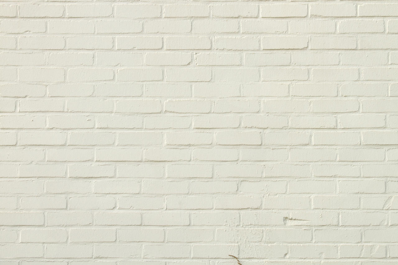 White Brick Wallpaper Kitchen