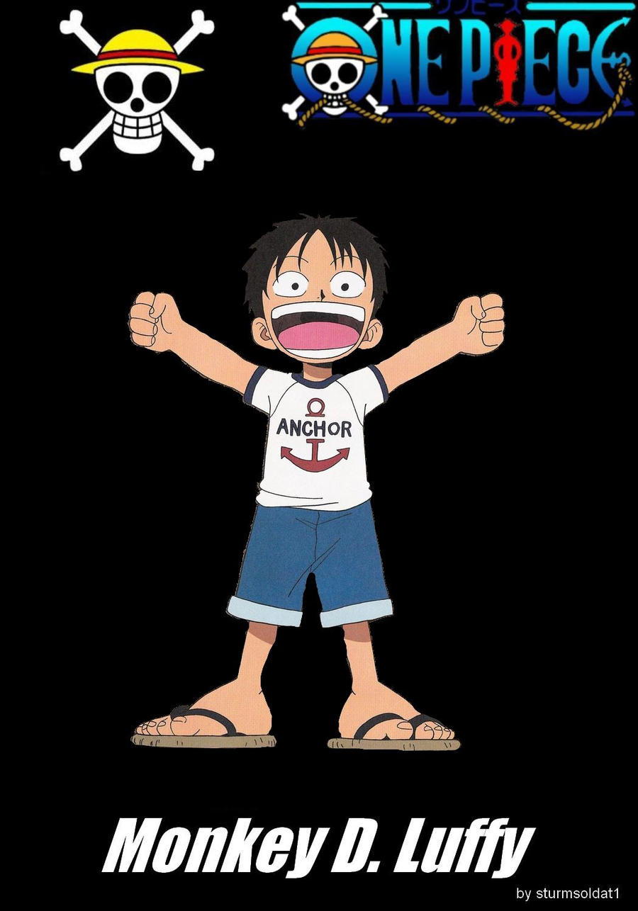 Monkey D Luffy Kid By Sturmsoldat1 On Deviantart