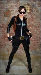 Lara Croft in Catsuit