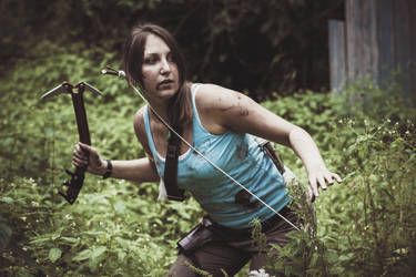 Tomb Raider with Snow Axe