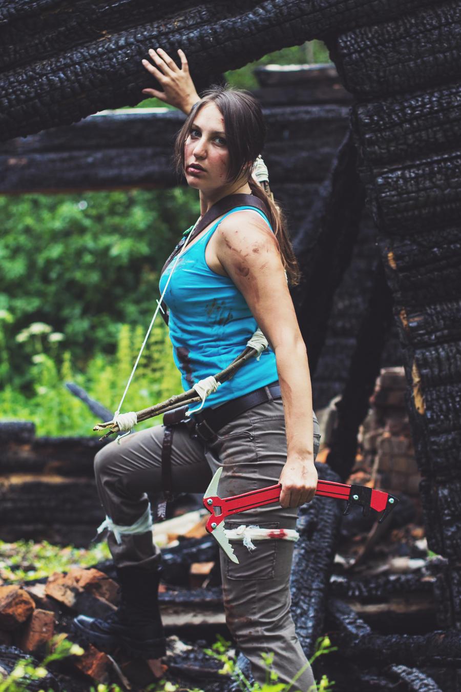 Tomb Raider Lara Croft ver 2 by OneMorePike