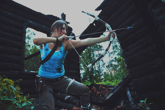 Lara Croft with Bow