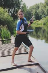 Lara Croft in Wetsuit SOLA