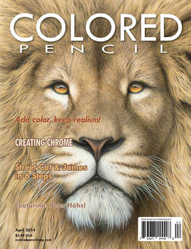 COLORED PENCIL Magazine - April 2014
